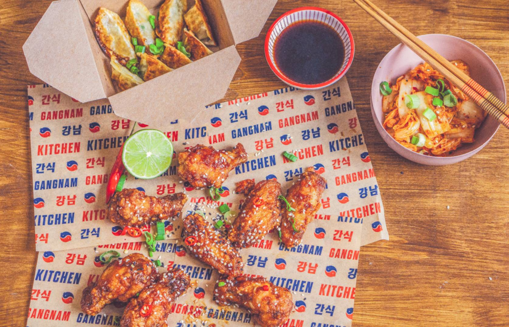 Honest Food by Mjam - Gangnam Kitchen Wings