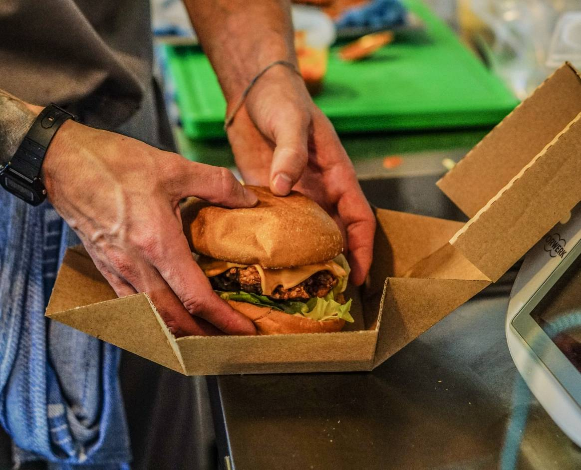 Honest Food Company - Burger In Box
